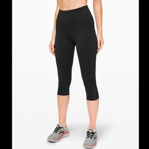 COPY - lululemon fast and free crop 19' size 2